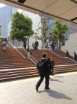 ①横浜駅階段