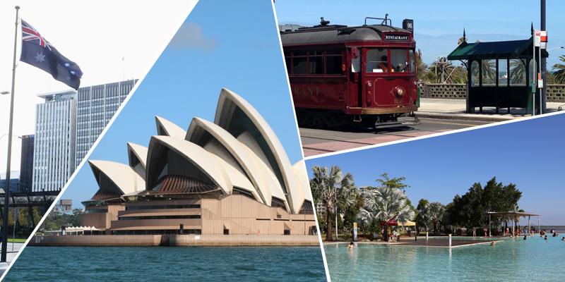 オーストラリア留学で人気の8都市|特徴・おすすめポイントを紹介